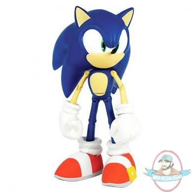 Sonic The Hedgehog Modern 10 Inch Figure By Jazwares Man Of Action Figures