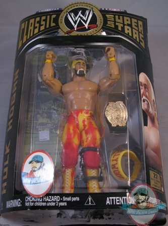 Jakks WWE TNA Ruthless Aggression Classic Superstars 8 Hulk Hogan Hollywood nWo