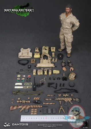 1 6 Scale Navy Seal Sdv Team1 Operation Red Wings Figure