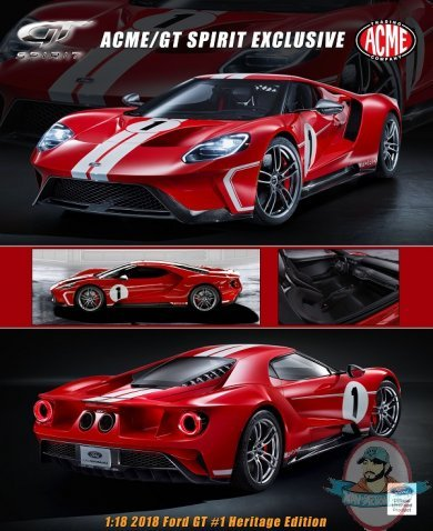 Ford Gt  Heritage Edition By Acme