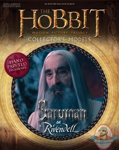 The Hobbit Motion Picture Figurine 14 Saruman At