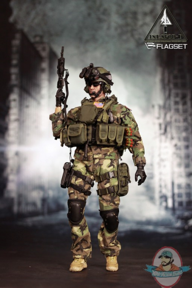 1 6 Sixth Scale Flagset Delta Special Forces Fs 73005