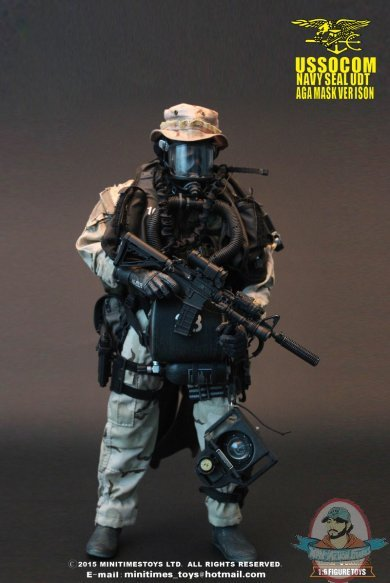 1 6 U S Navy Seal Udt M002 Action Figure By Mini Times