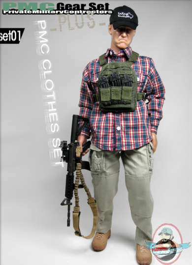 1 6 Scale Private Military Contractors Clothes Set 01 By
