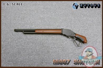 Zy Toys1 6 Action Figure Accessories Mi887 Shotgun For 12