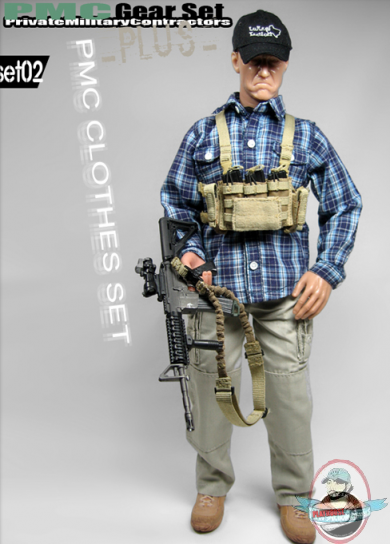 1 6 Scale Private Military Contractors Clothes Set 02 By