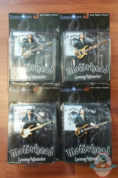 Motorhead Lemmy Kilmister Icon Figure Series Loco Ape New