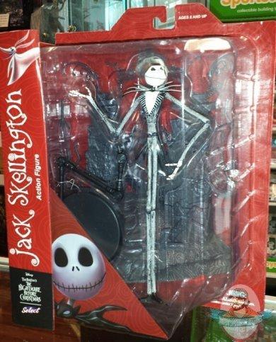 Nightmare Before Christmas Select Jack Skellington Diamond Select ...