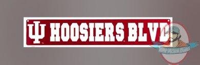 Indiana Hoosiers Blvd Street Sign