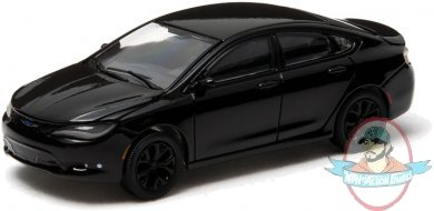 1 64 Black Bandit Series 10 2015 Chrysler 200s Greenlight