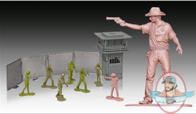 The Walking Dead Army Men Series 3 Woodbury Prison Set