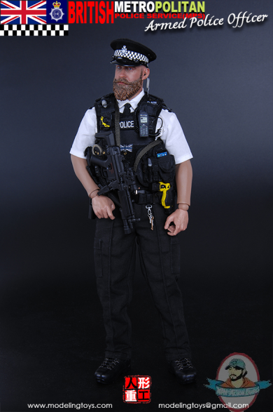 1 6 Military Series British Metropolitan Armed Police