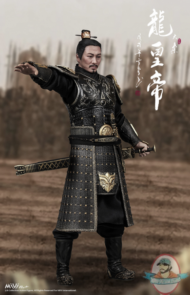Mivi 1 6 Scale China Empire Emperor Dragon Figure Miv 1801 Man Of Action Figures Steel, copper alloy, textile, metallic thread. mivi 1 6 scale china empire emperor