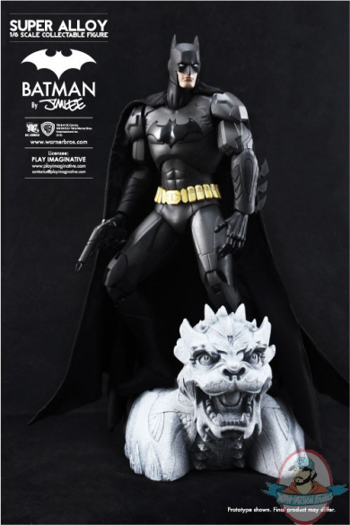1 6 Scale Super Alloy Batman By Jim Lee Matte Finish Play