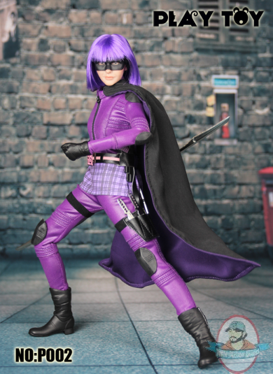 toyhaven: Check this out! Play Toy Purple Girl Sixth Scale