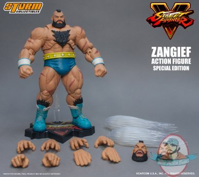 1 12 Zangief Quot Street Fighter V Quot Special Edition Storm