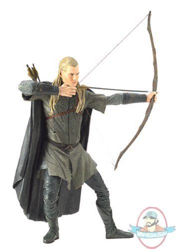 Lord Of The Rings Legolas 20 Inch Figure With Sound Man