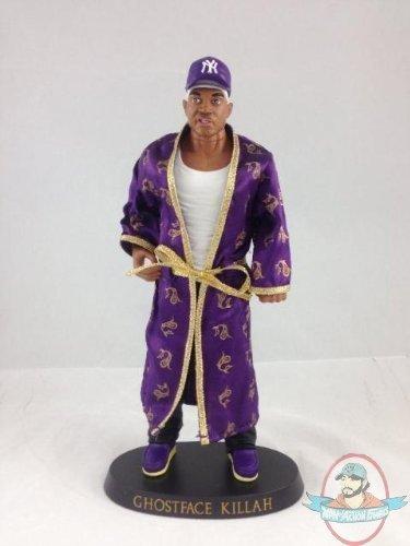 Wu Tang Clan Ghostface Killah Vinyl Talking Doll Purple