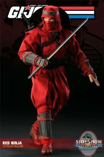 1/6 G I  Joe Cobra Red Ninja 12