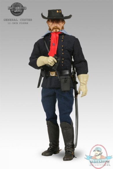 1 6 General George A Custer Figure By Sideshow
