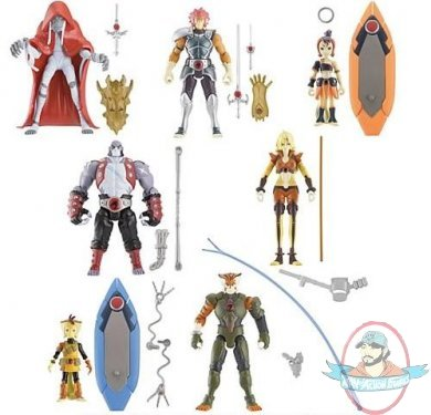 Thunder Cats Figures on Thundercats 4 Inch Action Figure Series 1 Set Of 7 By Bandai   Man Of