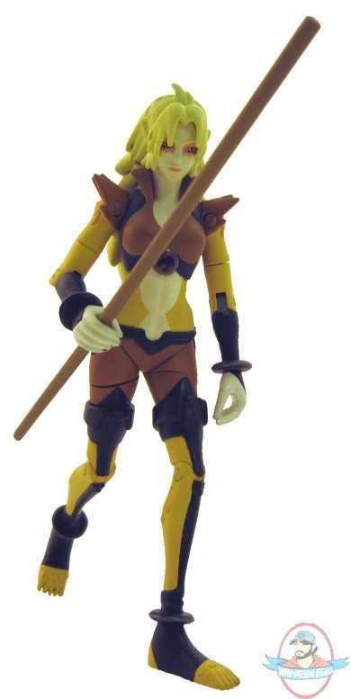 "Thundercats Cheetara Figure 4/"" Bandai Cartoon Network New"