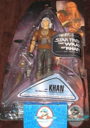 Star Trek Wrath Of Khan Twok 25th Anniversary Figure Man