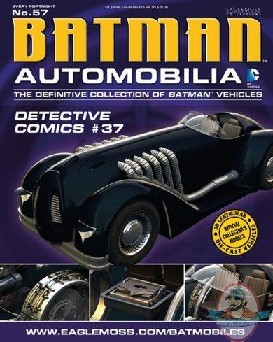 "BATMAN AUTOMOBILIA COLLECTION #57 /""DETECTIVE COMICS #37/"" EAGLEMOSS"