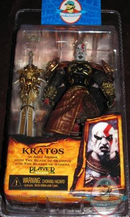 God Of War Kratos Ares Armor Open Mouth Variant Neca | Man