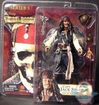 Pirates Of The Caribbean Captain Jack Sparrow Series 3