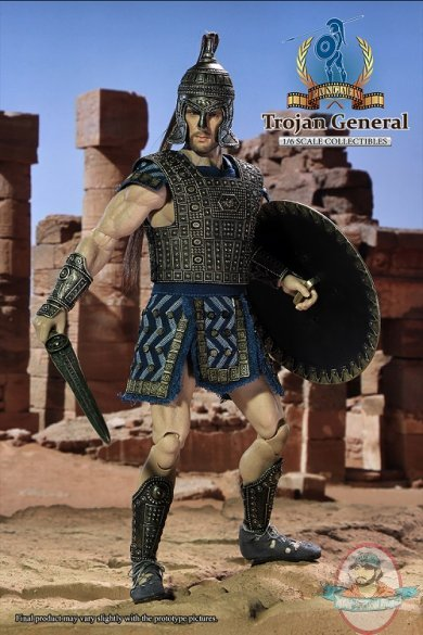 1/6 Sixth Scale Trojan General PG03 Action Figure Pangaea