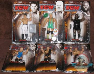 Ecw 5 Set Of 6 Figures Man Of Action Figures