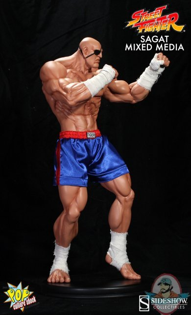 1 4 Scale Street Fighter 21 Quot Inch Sagat Statue By