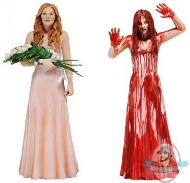 Carrie White 7 Inch Action Figure Set Of 2 By Neca Man