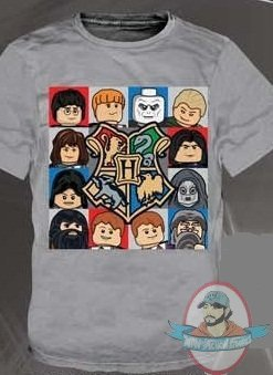 Harry Potter Lego T Shirt Gray Kids size Medium | Man of ...