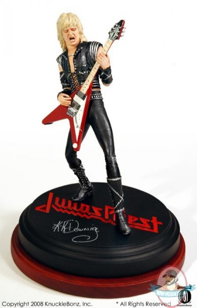 Kk Downing Rock Iconz Statue By Knucklebonz Man Of