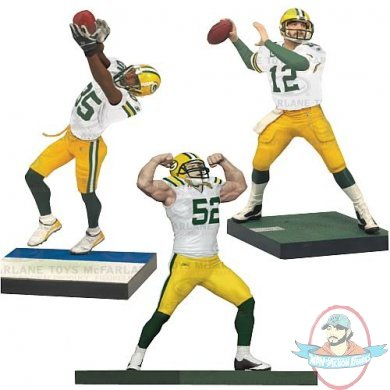 McFarlane NFL Green Bay Packers Championship Figure 3-Pack | Man ...
