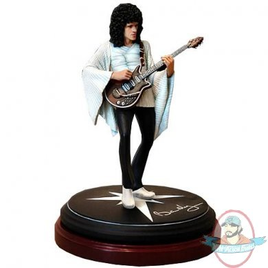 Queen Rock Brian May Iconz Statue By Knucklebonz Man Of
