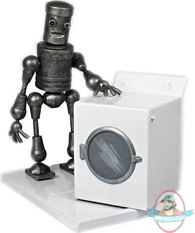robot washing machine