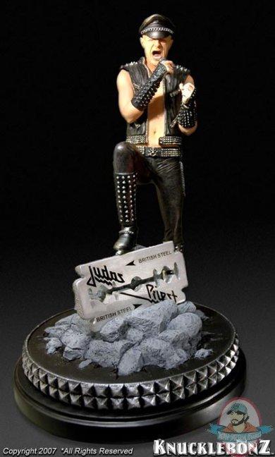 Rob Halford Rock Iconz Statue By Knucklebonz Man Of