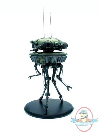 "SEP101557 low SW PROBE DROID 17IN RESIN STATUE Follow now ""Guyzbeach"" for pictures of real guyz on nude beaches !"
