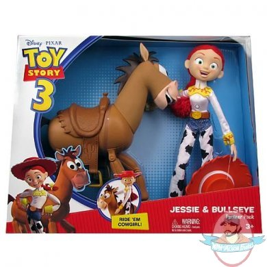 Toy Story 3 Jessie And Bullseye Partner Pack By Mattel