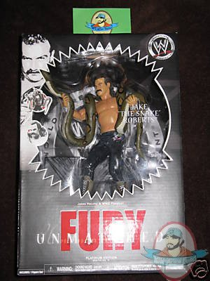 Wwe Unmatched Fury Jakks Pacific Series 9 Jake The Snake