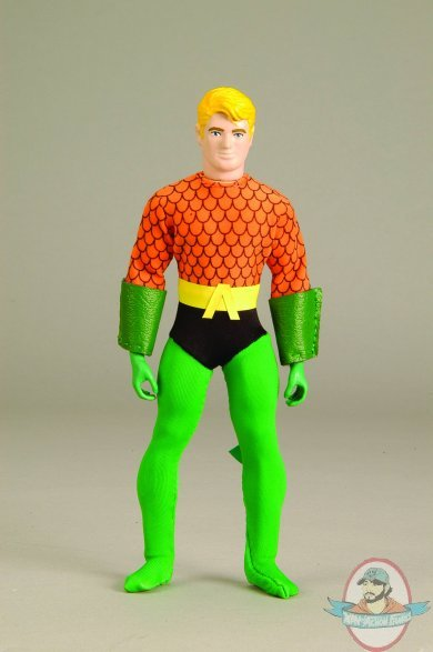 Retro Action Dc Super Heroes Aquaman Mego Style 8 Quot By