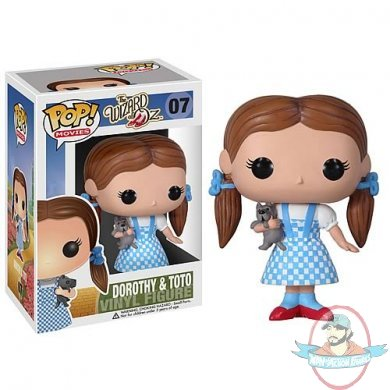 Wizard Of Oz Dorothy Pop Movies Vinyl Figure By Funko