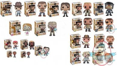 Pop Television The Walking Dead Set Of Series 1 2 3 Amp 4