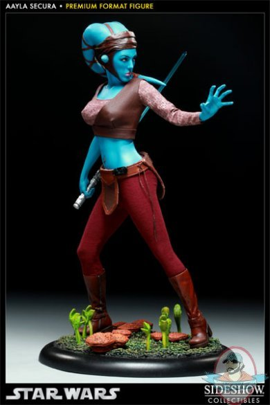 Star Wars Aayla Secura Premium Format Figure By Sideshow
