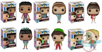 Pop Tv Saved By The Bell Set Of 6 Vinyl Figure Funko