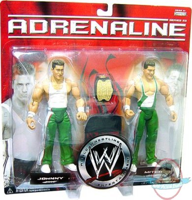 Adrenaline 22 Johnny And Mitch Spirit Squad Wwe Jakks