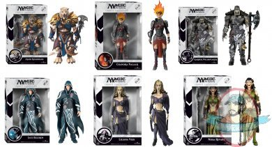Magic The Gathering Set Of 6 Legacy Action Figure By Funko